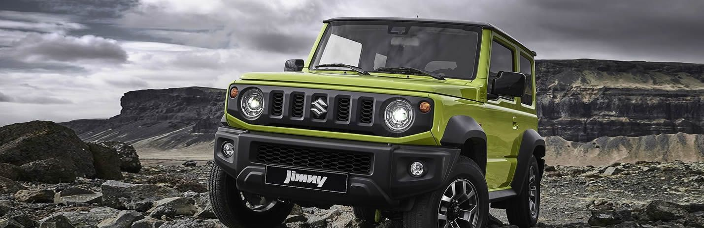 The New Suzuki Jimny - Coming 2019