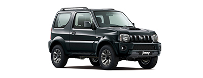 Suzuki Jimny - Available in Bluish Black