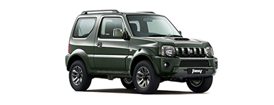 Suzuki Jimny - Available in Cool Khaki