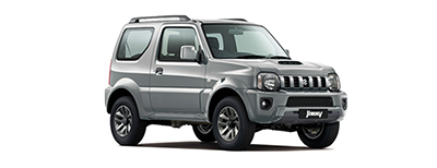 Suzuki Jimny - Available in Steel Silver
