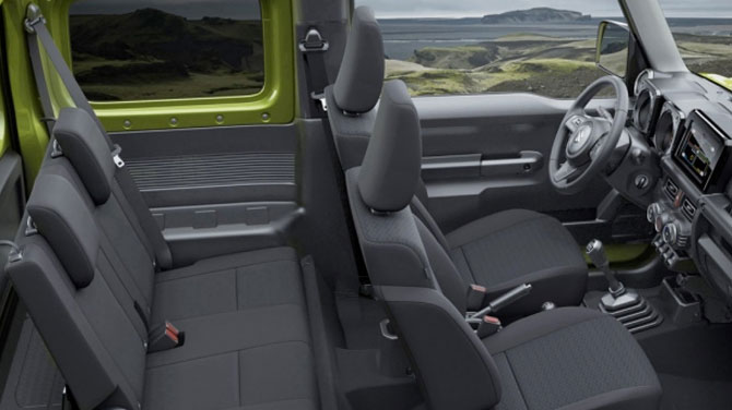 Suzuki Jimny - Reassuring Safety