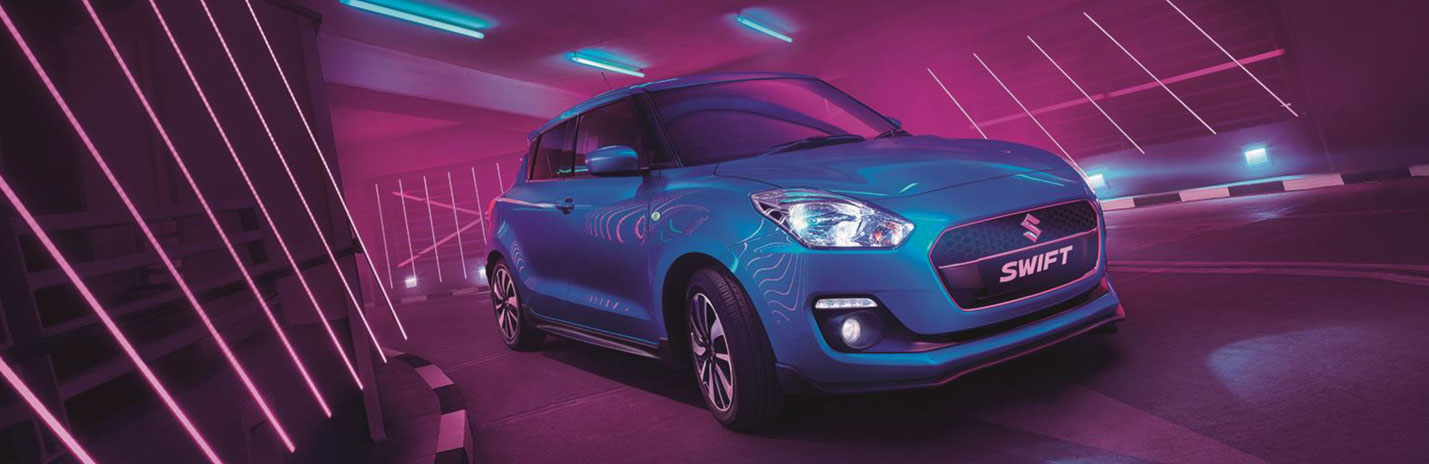 New Suzuki Swift Attitude