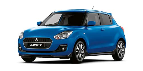 Suzuki Swift Attitude - Available In Speedy Blue Metallic